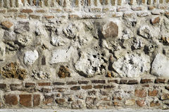 Detail of antique rustic facade Royalty Free Stock Images