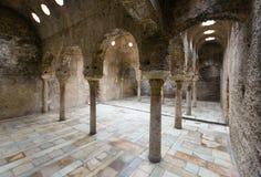 Detail of  Arabic baths (El Banuelo).  Granada Stock Image