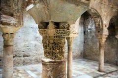 Detail of The Arabic baths.  Granada Royalty Free Stock Photos