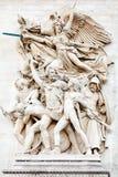 Detail of Arc de Triomphe. Called Le Depart de 1792 (La Marseillaise Stock Photo