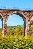 Detail of a arc of an old bridge Royalty Free Stock Photos