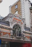 Detail of arcade architecture in London city centre. LONDON, UNITED KINGDOM - August 9th, 2014: detail of arcade architecture in London city centre Royalty Free Stock Photos