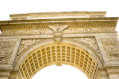 Detail of the arch in Washington Square, N Royalty Free Stock Photography