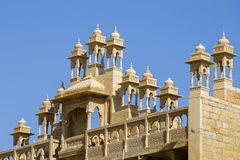Detail of architecture in the city Jaisalmer, India Stock Photos