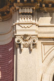Detail of the architecture of the fountains of Dona Casilda park Royalty Free Stock Images