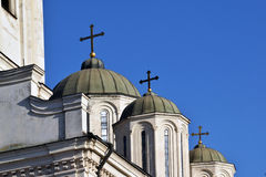 The detail of the architecture of Orthodox churches Royalty Free Stock Photo