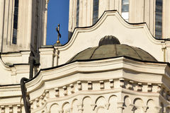 The detail of the architecture of Orthodox churches Stock Photos