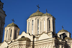 The detail of the architecture of Orthodox churches Royalty Free Stock Image