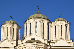 The detail of the architecture of Orthodox churches Stock Photography