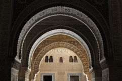 Archway in Alhambra Royalty Free Stock Image