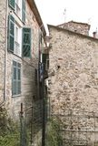 Detail of arcola s medieval village near la spezia. Italy royalty free stock photography