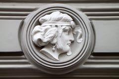 Detail of Art Nouveau Stock Photo