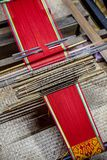 Traditional loom detail Royalty Free Stock Images