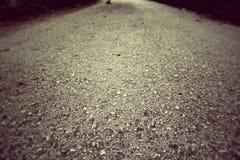 Detail of asphalt road Stock Image