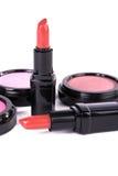 Detail of assortment of makeup Royalty Free Stock Photos