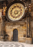 Detail of Astronomical Clock in Prague Stock Photos