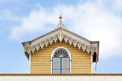 Detail of Azorean house Stock Photography