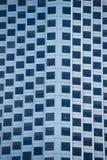 Detail-Bürogebäudefenster-Fassadenmuster Lizenzfreie Stockbilder