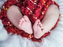 heart of small feet royalty free stock photos