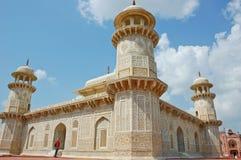 Detail of Baby Taj decoration Royalty Free Stock Photo