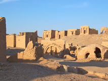Detail of the Bagawat necropol. Detail of the Bagawat egyptian necropolis - Oasis of Kharga - Lybian desert - Egypt Stock Photography