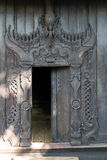 Detail of Bagaya Kyaung monastery at ancient city Inwa (Ava) Man Stock Images