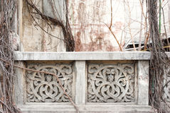 Detail of a balcony Royalty Free Stock Photography