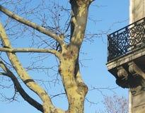 Detail of balcony Royalty Free Stock Photo