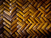 Detail of Bamboo weave furniture Stock Photo