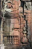 Detail of Banteay Kdei temple in the city of Angkor Stock Images