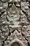 Detail of bas-relief in Angkor Wat Stock Photo