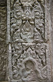 Detail of bas-relief in Angkor Wat Stock Images