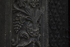 Detail of the bas relief on the church Royalty Free Stock Photos