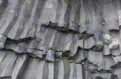 Detail Basalt Rocks Iceland Royalty Free Stock Photos