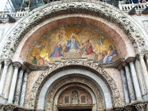 Detail on  Basilica di San Marco Stock Images