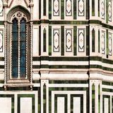 Detail of Basilica di Santa Maria del Fiore Stock Photo