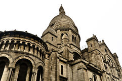 Detail of the Basilica Sacred Heart Stock Photos
