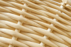 Detail of the basket. Detail of the weaved wooden basket stock images