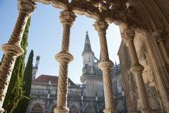 Detail of Batalha monastery Stock Image