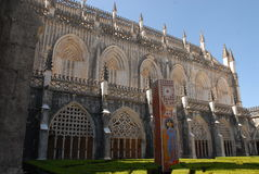 Detail of Batalha Monastery in Portugal Royalty Free Stock Photos