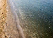 Detail of beach sand royalty free stock photos