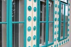 Detail of Beautiful building facade Royalty Free Stock Photos