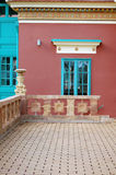 Detail of Beautiful building facade Stock Photography