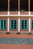 Detail of Beautiful building facade Stock Photos