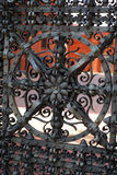Detail of beautiful old gate inManufactura Stock Photos