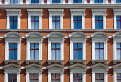 Detail of a beautiful old town house Stock Photography