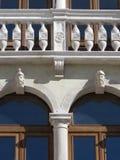 Detail of a beautiful Renaissance facade Royalty Free Stock Photos