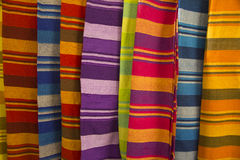 Striped cloth Stock Photos