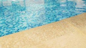 Swimming pool edge Royalty Free Stock Photos