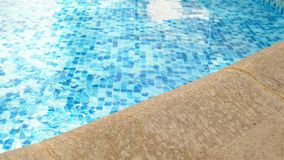 Swimming pool edge Royalty Free Stock Photography